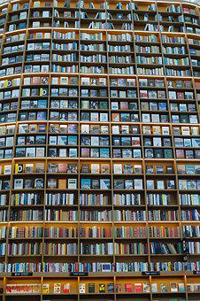 Structure, Library, Bookcase, Book, Many, Giant, Large