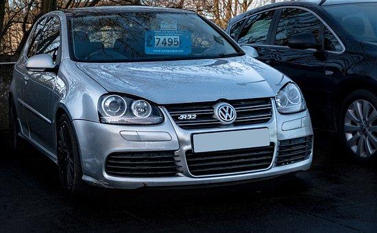 Volkswagen Golf R32, Volkswagen, Golf, R32, Mk5, Car