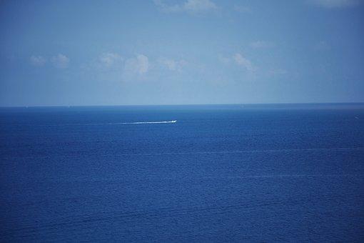 Sea, Sky, Waters, Nature, Landscape, Ocean, Daylight
