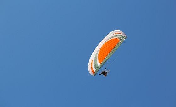 Flight, Sky, Flying, Air, Parachute, Extreme, High