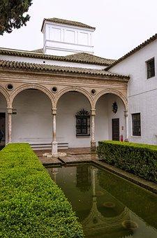 Architecture, Travel, Building, Home, Garden, Seville