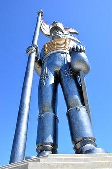 Steel, Nobody, Iron, Technology, Statue, Architecture