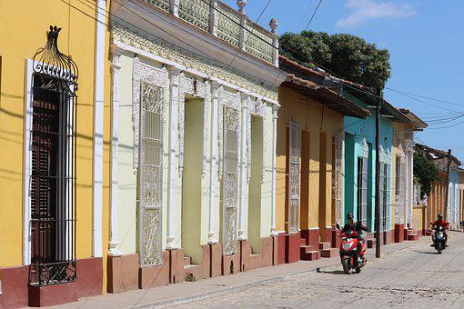 Architecture, Street, City, Outdoor, Trinidad, Cuba