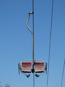 Lift, Seat, The Funicular, Dragalevtsi, Vitosha