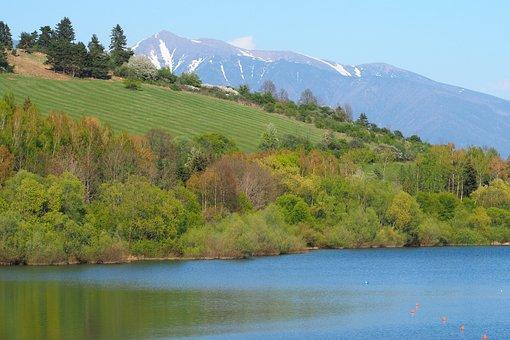 Slovakia, Spring, Nature, Blue Sky, Snow, Trees, April
