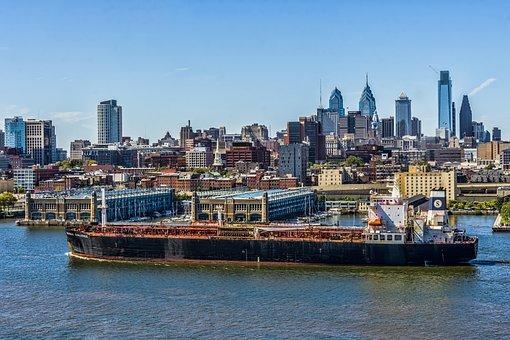 Water, Travel, City, Harbor, Cityscape, Ship, Boat