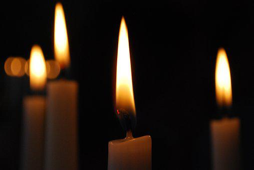 Candle, Candlelight, Wax, Brand, Flare-up, Candlestick