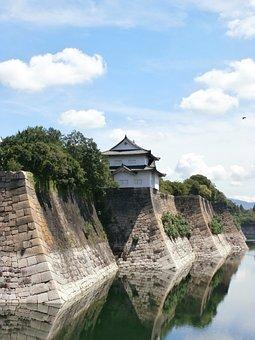 Japan, Osaka, Castle