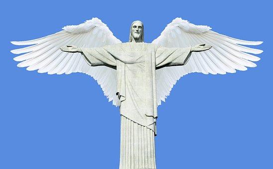 Cristo Redentor, Rio De Janeiro, Christ, Jesus, Holy