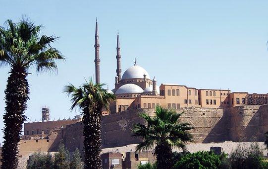 Egypt, Cairo, Citadel, Saladin, Fortress, Architecture