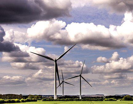 Windmill, Electricity, Turbine, Wind, Power, Generator