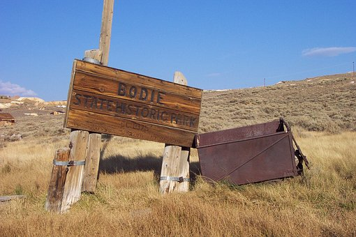 Outdoors, Abandoned, Farm, Nature, Grass, Mining, Bodie