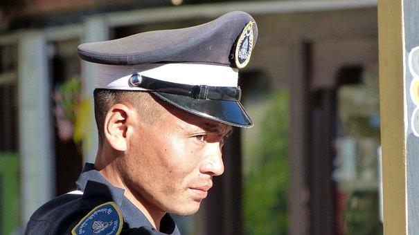 Human, Uniform, Lid, Adult, Man, Cap, Bhutan