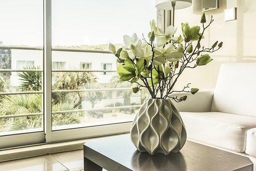 Window, Vase, Inside The House, Inside, Contemporary