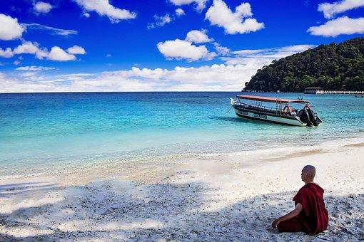 Water, Sea, Travel, Seashore, Beach, Lang Tengah Island