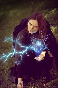 Witch, Mag, Magic Ball, Magic, Witchcraft, Spell