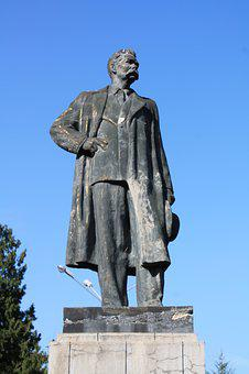 Statue, Sculpture, Travel, Monument, Maxim Gorky