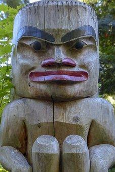 Totem, Face, Native, Art, Symbol, Culture, Tribal