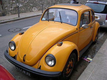Old Car, Volkswagen, Ladybug, Nice