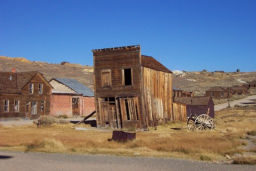 Abandoned, House, Outdoors, Architecture, Building