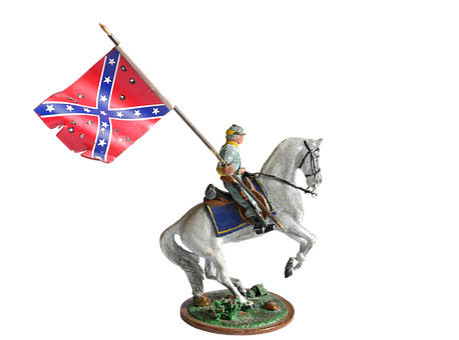 Flag, Reiter, Horse, Western