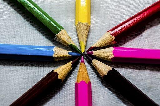 Pencil, Wood, School, Education, Composition