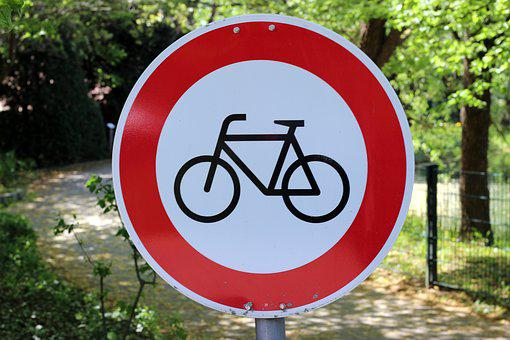 Shield, About, Characters, Bike, District, Street Sign
