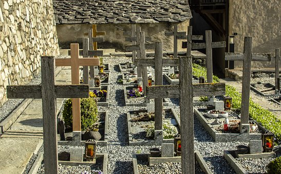 Old, Architecture, Travel, Cemetery, Alpine