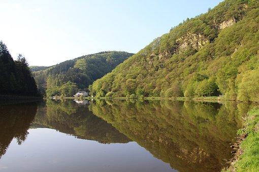 Waters, Nature, River, Landscape, Travel, Scenic, Saar