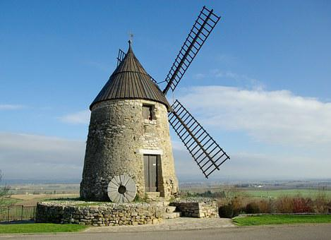 France, Castelnaudary, Mill, 17th Century