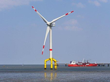 Pinwheel, Offshore, Wadden Sea, Watts, 5mw, Jade