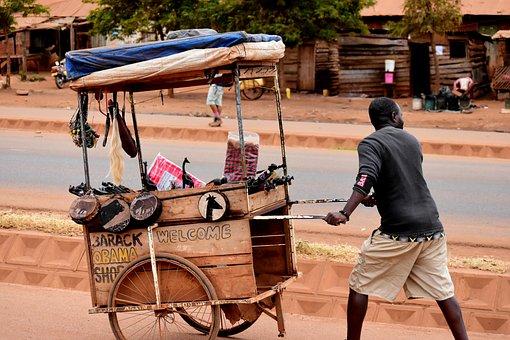 Tanzania, People, Africa, Shop, Street Vendor