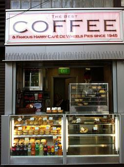 Sydney, Australia, Coffee Shop, Street Front, Cafe