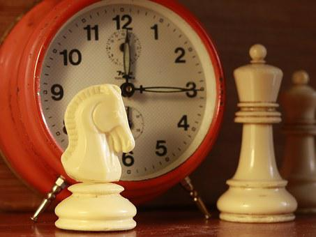 Chess, Clock, Game, Time, Competition, Figure, White