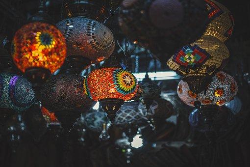 Light, Creative, Night, Street, Dark, Lamp, Decoration