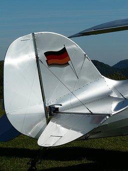 M17, Aircraft, Aerobatics, Tailfin, Elevator, Rudder