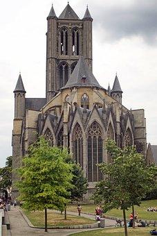 St Nicholas Church, Church, Gent, Schelde Gotik