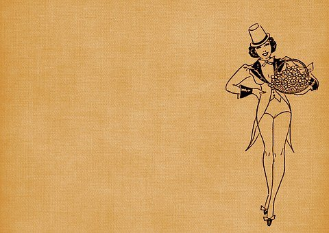 Flapper, Girl, Lady, 1920's, St Patrick's Day