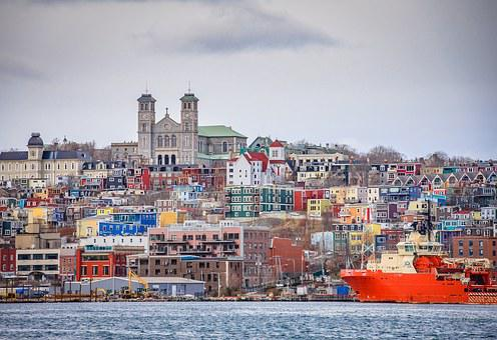 Harbour, Downtown, Newfoundland, St John's