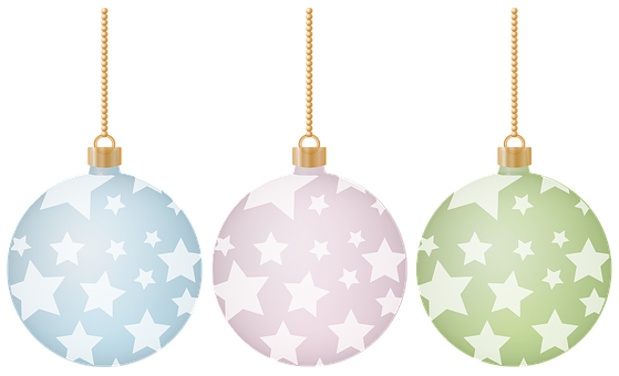 Christmas, Holiday, Ornament, Stars, Light Blue, Pink