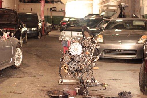 Cars, Motor, Garage, Mechanic, Tools, Automobile, Auto