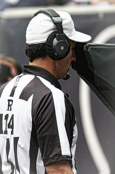 Referee, Nfl, Instant Replay, Game, American, Football