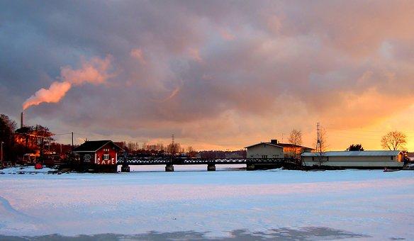 Helsinki, Finnish, Sea, Beach, Old, Coffee Shop, Blue