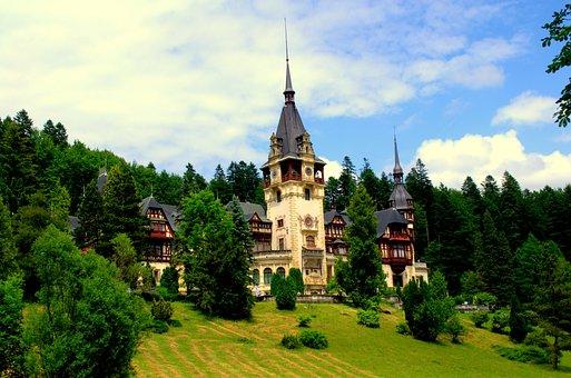 Peles, Castel, Sinaia, Romania, Prahova, Architecture