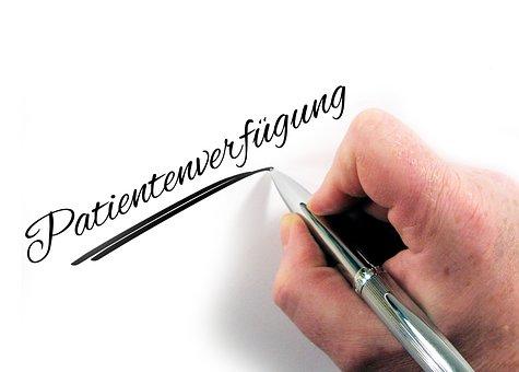 Advance Directive, Hand, Write, Pen, Paper, Letters