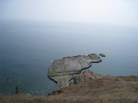 Taiwan, Penghu, Chimei Island, 灣 Strait, Small 灣