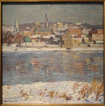 Across The Delaware, Robert Spencer, Artwork, Picture