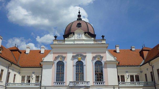 Hungary, Piłsudski, Castle, Gödöllő Hungary, Dome