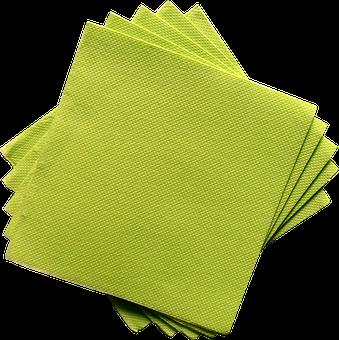 Towel, Napkin, Restaurant, Table Wedding, Green