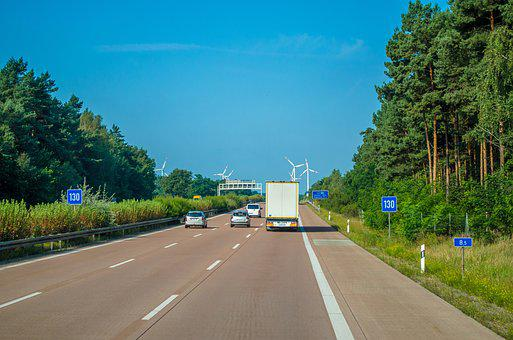 Motorway, Poland, Track, Road, Summer, The Way